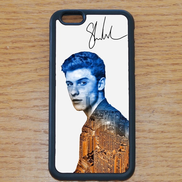 low priced be0b0 74faf Shawn Mendes iPhone 6 Plus 6S plus Rubber case